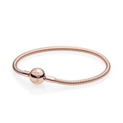 Rose Armband Clipverschluss