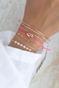 ROSE KAURI Armband Pink