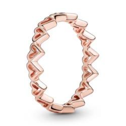 ROSE Ring Herzen für Damen