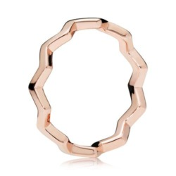 ROSE Ring Timeless Zigzag
