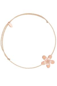 ROSY FLOWER Armband rosé vergoldet