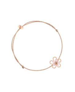 ROSY FLOWER Armband Beige