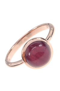 Rubin Roségold Ring