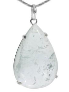 Rultilquarz Anhänger 925 Silber 1001 Diamonds bunt