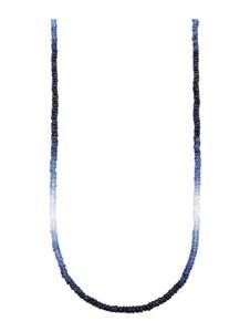 Saphir-Kette Diemer Farbstein Blau