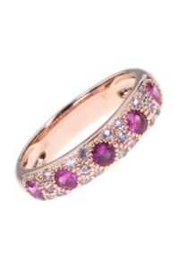 Saphir Ring Roségold