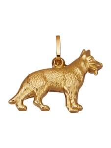 Schäferhund-Anhänger Diemer Gold Gelbgoldfarben
