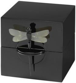 Schatulle 'Dragon Fly', schwarze Version, Schmuck