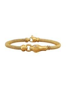 Schlangen-Armband Diemer Trend Gelbgoldfarben