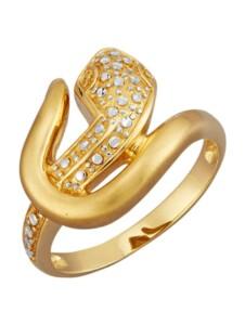Schlangen-Ring Diemer Gold Gelbgoldfarben