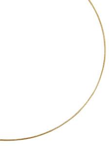Schlangenkette massiv Diemer Gold Gelb