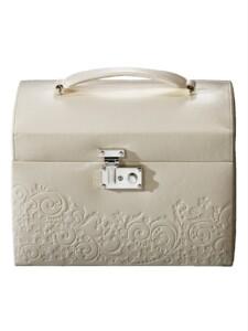 Schmuckkoffer Golden Style Weiß
