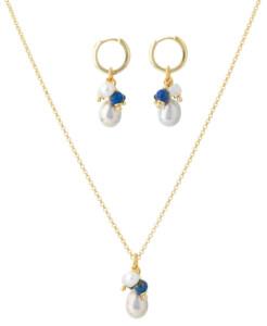 Schmuckset 'Alizée' mit Perlen