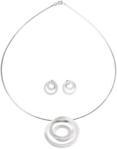 Schmuckset 'Silver Circles'