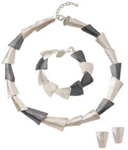 Schmuckset 'Silver Triangle', Schmuckset