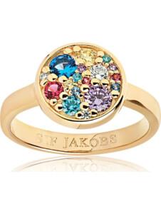 Sif Jakobs Jewellery Damen-Damenring 925er Silber Zirkonia Sif Jakobs gold