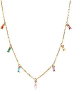 Sif Jakobs Jewellery Damen-Kette Princess 925er Silber Zirkonia