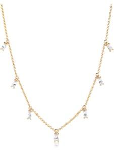 Sif Jakobs Jewellery Damen-Kette Princess 925er Silber Zirkonia Sif Jakobs gelbgold