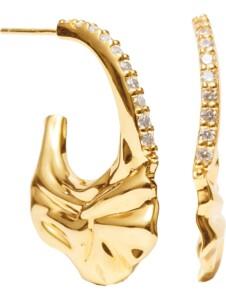 Sif Jakobs Jewellery Damen-Ohrhänger 925er Silber Zirkonia Sif Jakobs Gelbgold