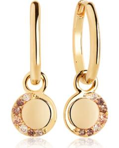 SIF JAKOBS JEWELLERY Ohrringe im SALE Ohrhänger aus Silber, SJ-E12011-YEL-SG, EAN: 5710698071453
