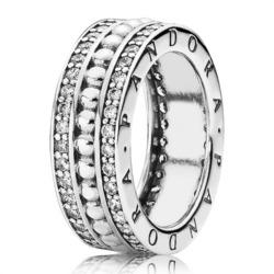Silberring 925er Silber Zirkonia