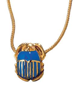 Skarabäus-Collier des Tutanchamun, Collier, Schmuck