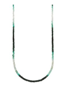Smaragd-Kette Diemer Farbstein Multicolor