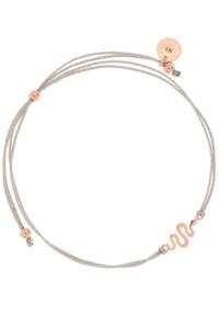 SNAKE Armband rosé vergoldet