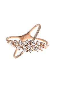 SPARKLING ELLIPSE Ring Roségold