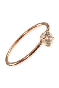 Stacking Ring rosé vergoldet Amethyst