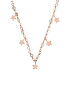 STAR CHARM|Halskette Rosé