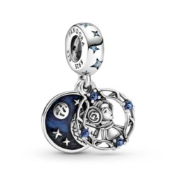 Star Wars Charm Prinzessin Leia aus Sterlingsilber