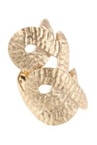 Statement Ring vergoldet