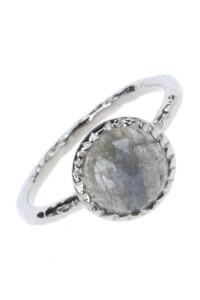 Sterling Silber Labradorit Ring