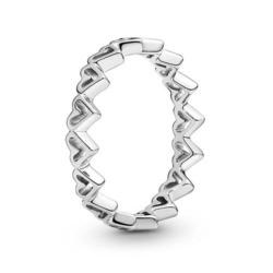 Sterlingsilber Ring Herzen für Damen