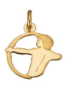 Sternzeichen-Anhänger 'Schütze' Diemer Gold Gelbgoldfarben