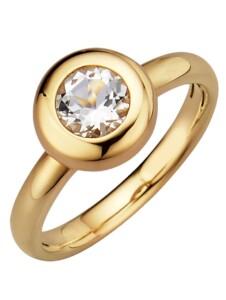 Sternzeichen-Ring Löwe Diemer Highlights Weiß