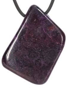 Sugilit Anhänger 1001 Diamonds violett