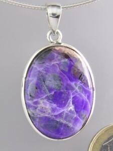 Sugilit Anhänger 925 Silber violett 1001 Diamonds violett