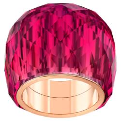 Swarovski Nirvana Ring, rot, Rosé vergoldetes PVD-Finish