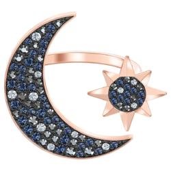 Swarovski Symbolic Moon Ring, mehrfarbig, Rosé vergoldet
