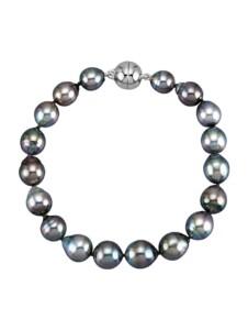 Tahiti-Zuchtperlen-Armband Diemer Perle Schwarz