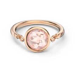 Tahlia Ring, rosa, Rosé vergoldet