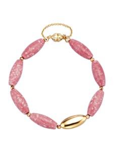 Thulit-Armband Diemer Farbstein Rosé