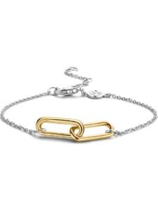Ti Sento – Milano Damen-Armband 925er Silber Zirkonia Ti Sento Milano bicolor