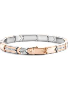 Ti Sento – Milano Damen-Armband 925er Silber Zirkonia Ti Sento Milano roségold/weiß