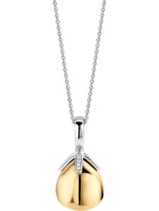Ti Sento – Milano Damen-Kette 925er Silber 16 Farbstein Ti Sento Milano gold