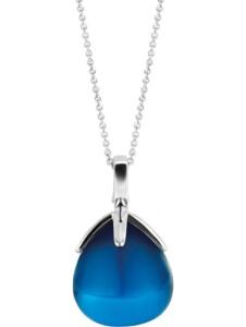 Ti Sento – Milano Damen-Kette 925er Silber Kristall Ti Sento Milano blau