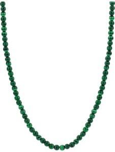 Ti Sento – Milano Damen-Kette 925er Silber Malachit Ti Sento Milano dunkelgrün