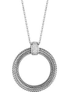 Ti Sento – Milano Damen-Kette 925er Silber Zirkonia Ti Sento Milano silber